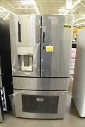 Ge Pvd28bynfs 36 Stainless French Door Refrigerator Nob 111738