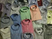Wholesales A Lot Menand039s Dress Shirt In Bulk Mixed Color Mix Style 90 Items New