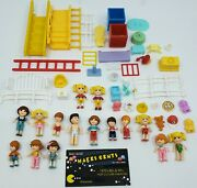 1990s - Vintage Matchbox Oh Jenny Doll Toy Lot W/ Figures And Accessories