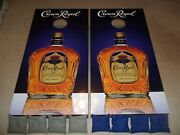 Crown Royal Corn Hole Boards 2 - Bean Bag Toss Game