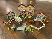 Lego 3185 Friends Summer Riding Camp, Instructions Included, No Box
