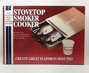 Cameron Vintage Stovetop Smoker Cooker New Old Stock