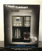 Cuisinart Ss-15cp 12 Cup Coffee Maker And Single-serve Brewer - Black - New