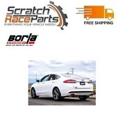 Borla 11942 Axle-back Exhaust S-type Fits 2017-2018 Ford Fusion Sport 2.7l Turbo