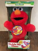 The Original Tickle Me Elmo Plush Toy New In Box Great Condition Sesame Street