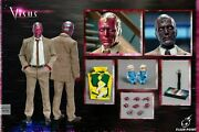 Flash Point Studio 1/6 Fp-22151b Reinventing Man Vision And Baby Action Figure Toy