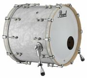 Pearl Music City Custom Reference Pure 24x16 Bass Drum No Mount White Marine Pea