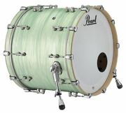 Pearl Music City Custom Reference Pure 22x18 Bass Drum Ice Blue Oyster Rfp2218bx