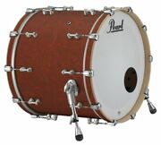 Pearl Music City Custom Reference Pure 26x18 Bass Drum No Mount Cranberry Satin