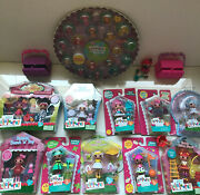 Lalaloopsy Lot- Minis And Tinies Toasty Sweet Fluff Ic Cone Smack N Pop +others