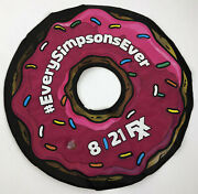Simpsons Homer Inflatable Donut Sd Con Comic Con 8/21 Fxx Everysimpsons Ever