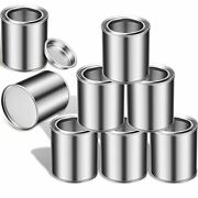 8 Pieces Empty Metal Paint Cans With Lids Cans Tiny Empty Unlined Pint Pails