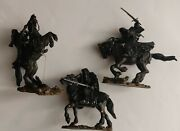 Lord Of The Rings Ringwraiths Dark Riders On Horseback 6 Piece Toy Figurines