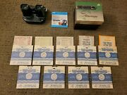 Vintage Viewmaster And Box With 9 Reels Cisco Kid Gene Autry Hopalong Cassidy