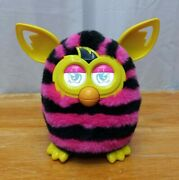 Furby Boom Pink And Black Striped 2012 Works