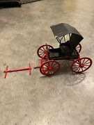 Vintage Cast Iron Carriage Wagon John Deere Parts Expo Gift
