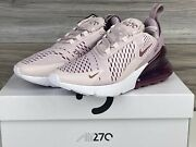 Nike Womenand039s Air Max 270   Barely Rose White   Size 6.5   Ah6789 601   Nwb