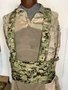 First Spear Low Profile Chest Rig Aor2 H-strap Mod Chest Rig, 6/12, Seal, Aor2