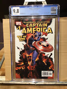 Captain America 1 Cgc 9.8 Death Of Red Skull , Cameo Of Winter Soldier
