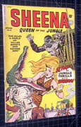 Sheena Queen Of The Jungle 6. Fiction House 1950