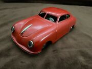 Jnf Germany Red Porsche 356 Coupe Tinplate Friction 119 N B