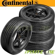 4 Continental Procontact Tx All Season Grand Touring 245/40r19 94w A/s Tires