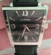 Corum Trapeze Stainless Case Automatic Date Mens Watch 82.404.20