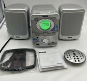 Rca Mini Shelf Stereo Rs2046 Cd Usb Aux Input Remote Instructions Sounds Great