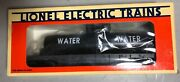 Lionel 6-16390 Lionel Fire Rescue Flatcar With Water Tank, New