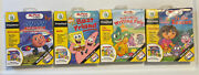 Lot Of 4 Leap Frog My First Leap Pad Game Cartridges Books Preschool Ages 3 Up