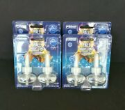 8 Glade Plug Ins Fall Night Long Scented Oil Air Freshener Refills Four 2 Pack