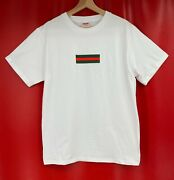 Supreme X 100 Authentic Rare Box Logo White Immaculate Tee Shirt Size L