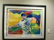 The Rocket Roger Clemens By Leroy Neiman Limited Edition Serigraph On Paper