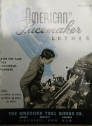 1943 American Tool Works Pacemaker Lathe Radials Shapers Brochure 16