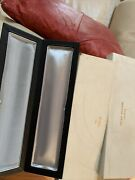 Vintage Patek Philippe Black Coffin Box 10.25 Inch Immaculate With Outer