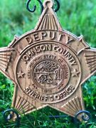 Custom Carved Police Sheriff Fireman Ems Badges Plaques Patches Logos 18 Inch
