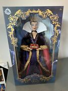 Disney Store Limited Edition Evil Queen 17andrdquo Doll