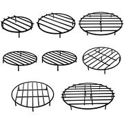 Vevor Fire Pit Grate Round Firewood Grate 18''-36'' Outdoor Bbq Grill Heavy Duty