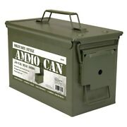 Metal 0.50 Caliber Ammo Can Military Ammo Can M2a1 50cal Metal Ammo Can Box