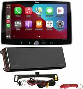 Boss Audio Systems Elite Be10acp Car Stereo W Be2200.5d 5-ch Amp And Backup Camera