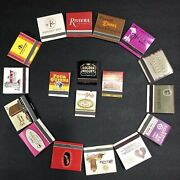 Lot Of 18 Vintage Las Vegas Casino Hotel Matchbooks Collectibles Some Rare Nice