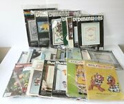 Lot Of 23 Dimensions Bucilla Cross Stitch Needlepoint Kits Animal Floral Holiday