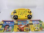 My First Leap Pad School Bus Learning System With 3 Books And Cartridges