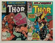 Thor 411 And 412. Key 1st App New Warriors Marvel 1989 2 X Fn+/- Condition