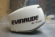 Evinrude Etec 90 Engine Cover Cowl Cowling Top 285651 White
