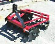 New Atlas 1216 4 Ft. Disc Harrow For 3 Point Free 1000 Mile Delivery From Ky