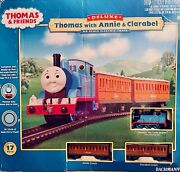 Bachmann Ho Scale Electric Train Deluxe Set Thomas With Annie And Clarabel
