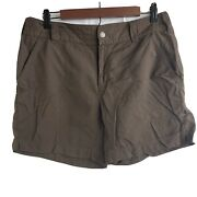 Columbia Womans Brown Shorts Size 10