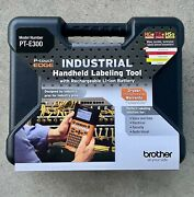 Brother Pt-e300, P-touch Edge Industrial Handheld Labeling Tool Kit