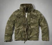 Abercrombie And Fitch Padded Military Jackets Nwt Authentic Items